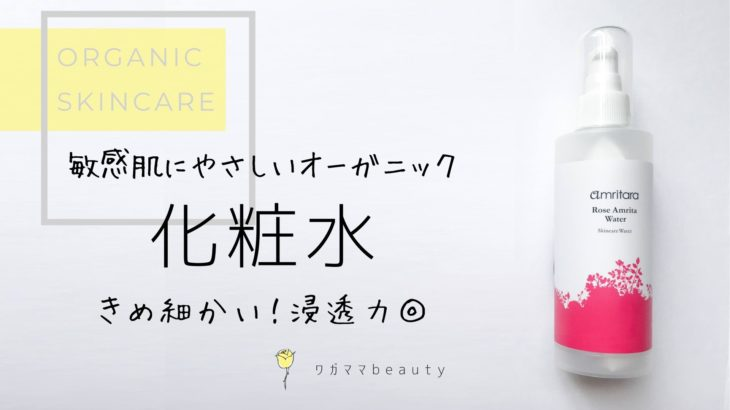 【レビュー】アムリターラの化粧水|サラッとしてるのに浸透力が高すぎ◎